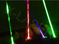 Red+Green+Purple laser glove magic bar laser gloves for laser dancing with multi color choice