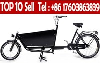 cheap 3 wheel cargo bicycles with cargo box in China