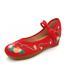 Chinese style fashion cloth ladies shoes
