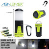Powered By 3*AAA Dry Battery Extendable Camping Lantern