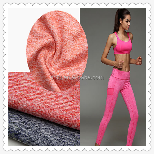 fabric textile yoga suit fabric knitted fabric for leggings swimming underwear / yoga suit