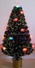 fashion fiber Christmas tree with bell ornaments