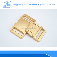 Branded Cooperative Metal buckle Matt Color Buckle in Gold