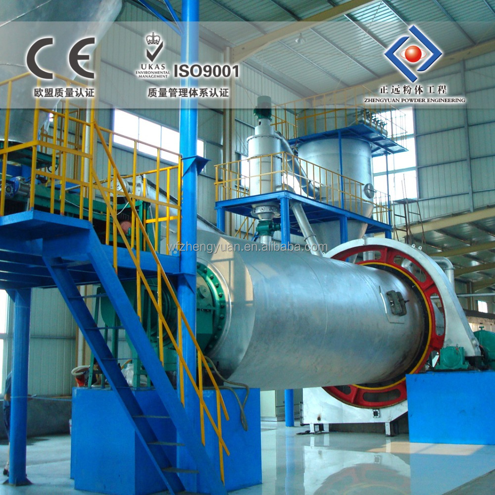 Ball Mill & Air Classifier for Silica Sand