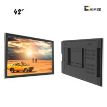 55 Inch Wall Mount Android LCD Advertising Touch Screen Monitor for restaurant lcd advertising tv