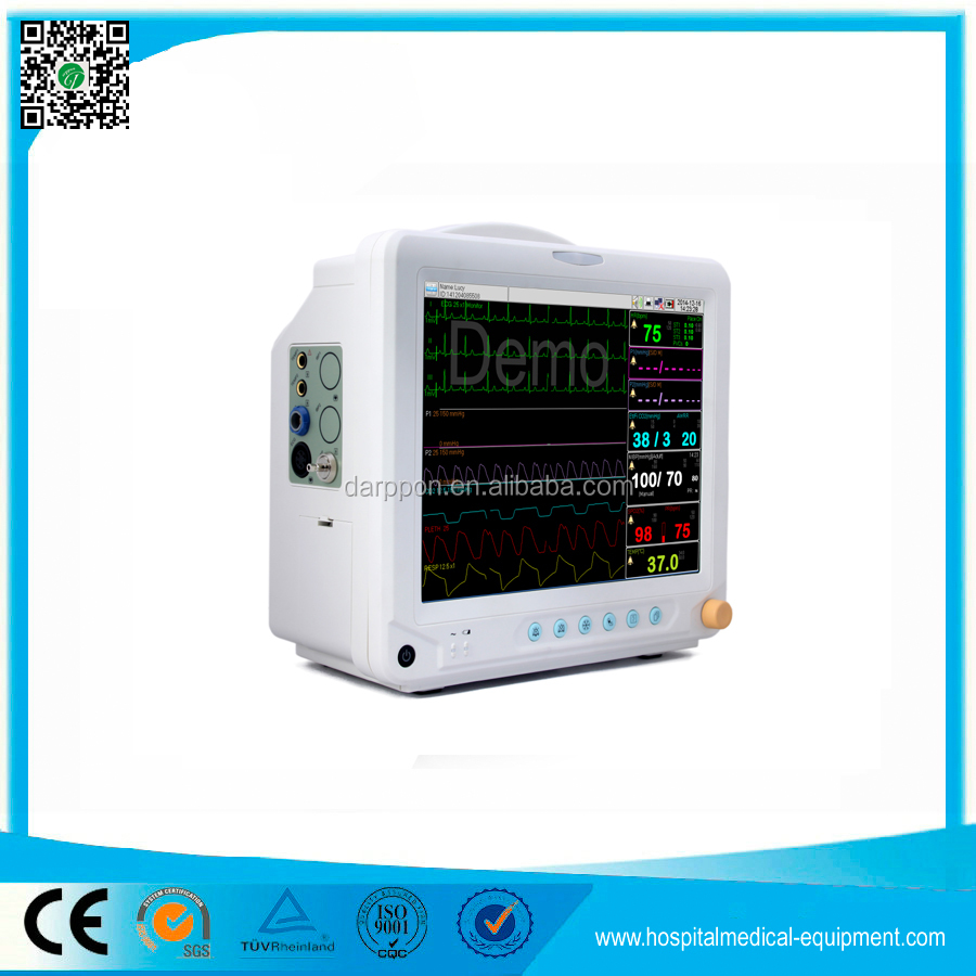 F5 Hot Sale Medical Equipment 12.1 inch Multi Parameter Patient Monitor