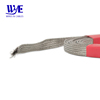 Flame retardant tinned copper expandable braided sleeve for cable protective