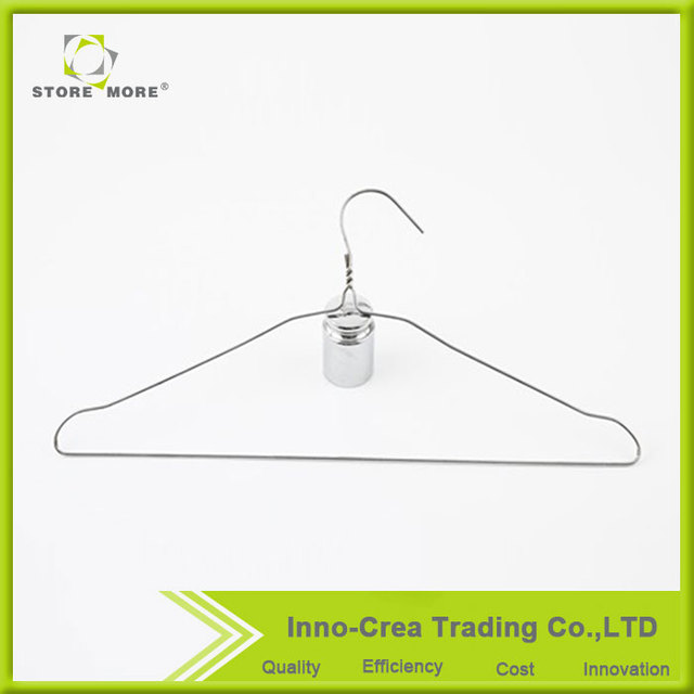 China Suppliers Store More / OEM Chrome Plating PVC Coating Clothes Hanger