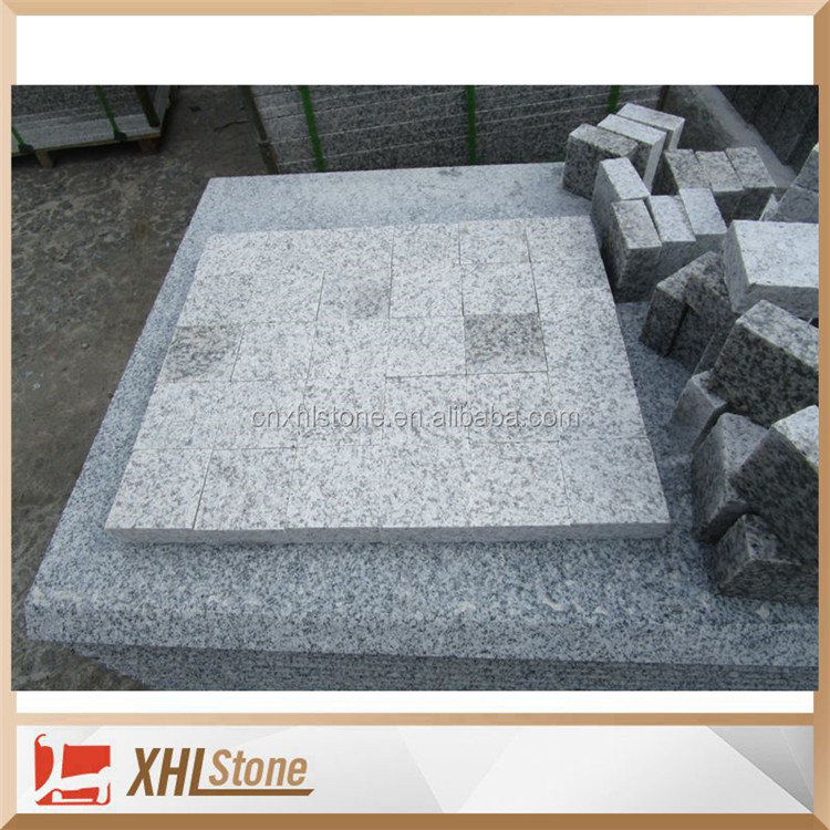 China Cheap light grey G655 Granite Paving Stone Pavers