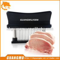 rolling meat tenderizer with plastic handle tenderizer steak tool meat tenderizer machine metal