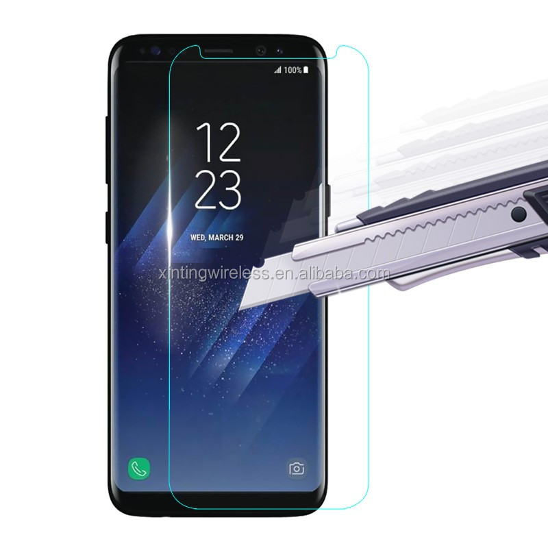 9H tempered glass Screen protector for samsung galaxy s8 screen protector for samsung s8 shockproof anti-scratch screen film