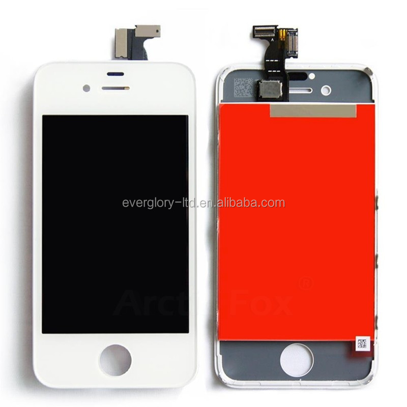 mobile phones 4g cheap capacitive touch screen china mobile lcd display for iphone 4G