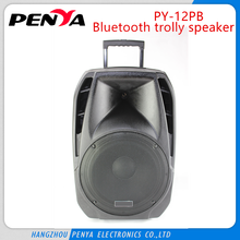 dj sound box with power range AC85 to AC265 with handle