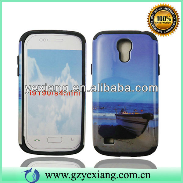 Cell Phone Glossy Back Cover Case For Samsung S4 Mini i9190/i9192/i9195/i9198