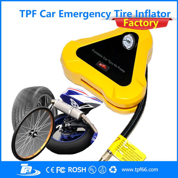 TPF 150 PSI DC12V auto useful strong motor tyre inflator pump by <strong>manufacturer</strong>