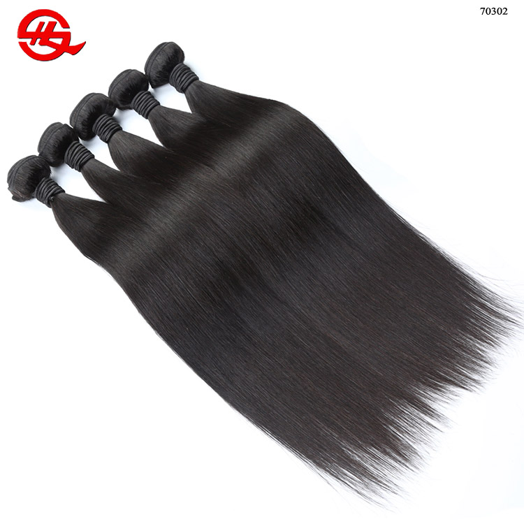 "Silky Straight wave 10""-32"" Grade 8A Wholesale 100% Natural Remy Human Virgin Indian Hair"