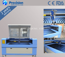 Metal and no-metal laser cutting machine 1390-H/ hobby laser cutter 1390 manufacturers looking for distributor