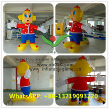 advertising inflatable nylon monkey 3mH customized
