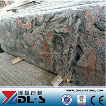 Popular among Dubai Granite Importer Cheap China Multi Color Red Granite slab price not From Indian Granite Slab Price