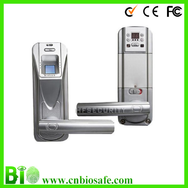 Apartment Fingerprint Password+Mechanical Key+Card Door Lock (HF-LA901)
