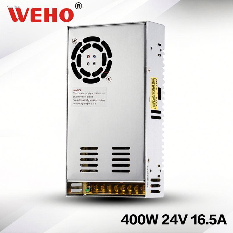 OEM High quality 400W Single output 24v power supply 400w variable dc power supply