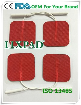 Tens adhesive conductive electrode pad use for digital therpay stimulation device