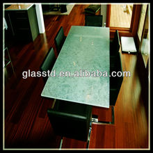 high-end custom modern glass desk office furniture