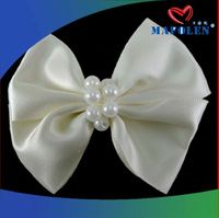 Korea Style Elastic Headband Make Organza Bow
