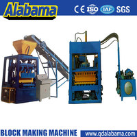 low risk of breakdown 9 Years no complaint real manufacturer direct concrete block making machine production line