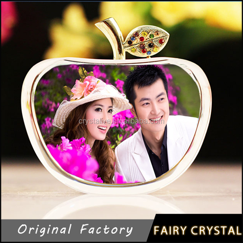 Crystal Photo Decoration Pieces