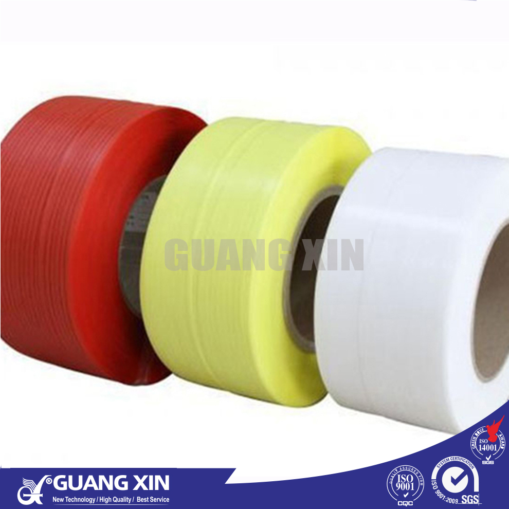 hot sale best price PP PET colored clear hard plastic carton packing belt