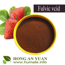 Fulvic acid water soluble fertilizer from peat extract
