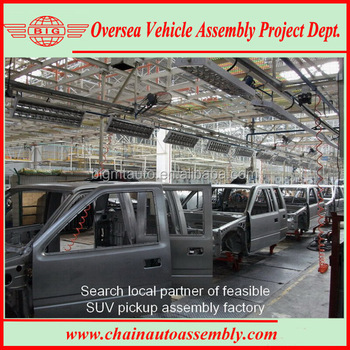 4x4 Drive Gasoline SUV/Pickup Assembly Line