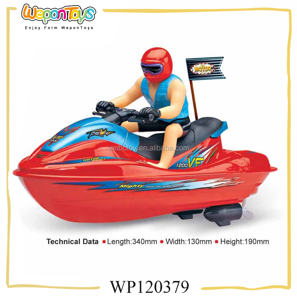 new style 1:10 scale powerful rechargeable boat rc model large rc boat with lights