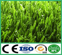 Stem fiber artificial grass for football field