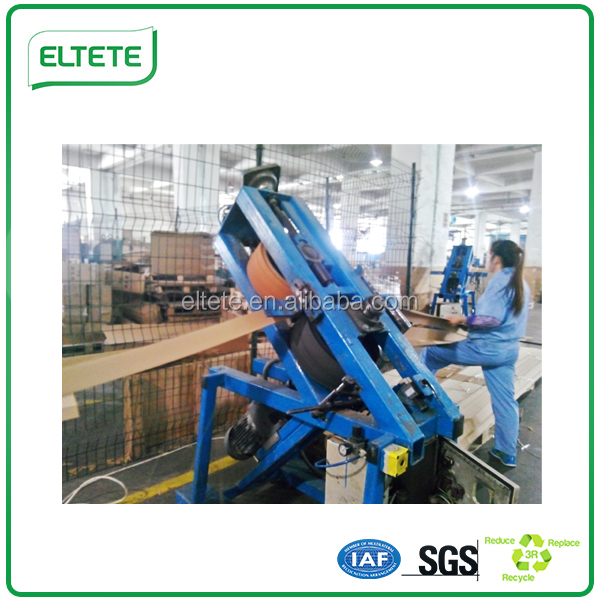 recyclable paper wrap around furniture edge protector production line EWAM