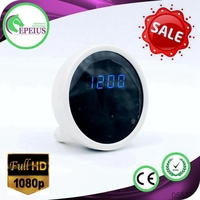 FACTORY OUTLETS EP-703 cctv 4mm night vision camera IP WIFI CAMERA CLOCK