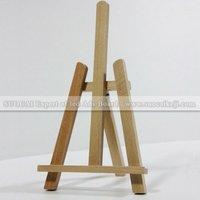 Small desktop wooden easel