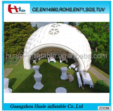Used party/event/wedding inflatable dome tents for sale