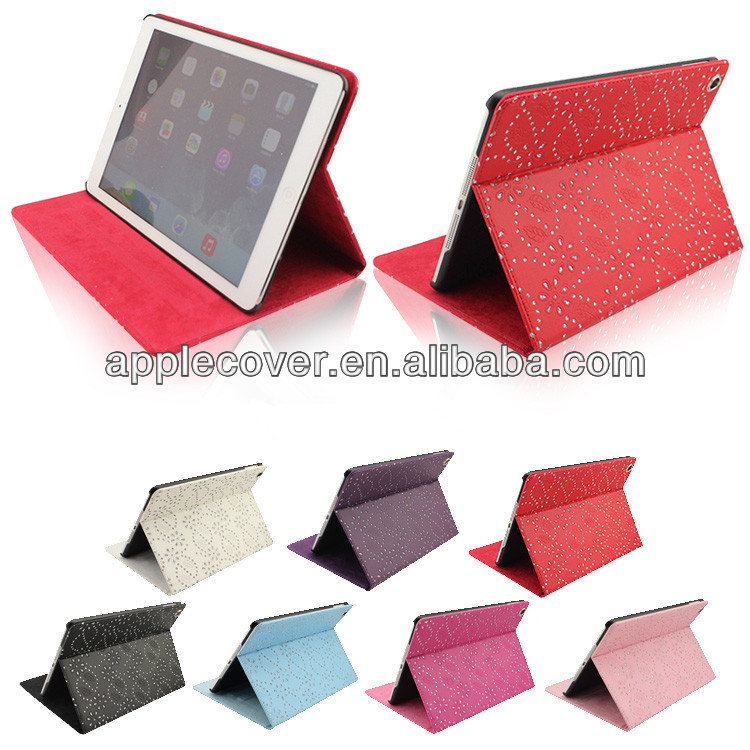 2014 Accessory for iPad Air Bling Stand Case