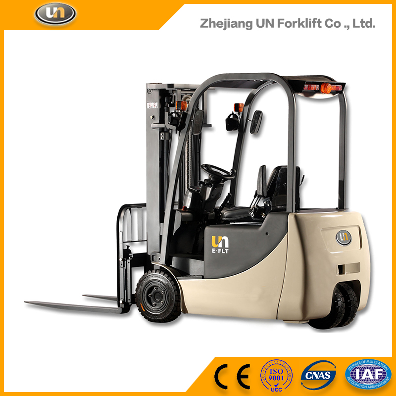 Logistics Machinery 2ton 3 Wheel Electric Forklift Truck