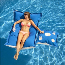 European style adult pool floating water bean bag wholesale