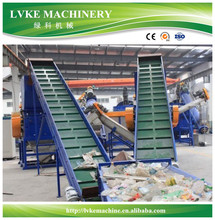 Lvke HDPE PVC LDPE PE Garbage EPS PET PP Nylon Plastic Bags Film PS Bottle Washing Waste Plastic Recycling Machine Price