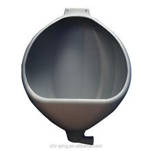 Plastic urinal HDPE wall mount for portable toilet plastic urinals for sale