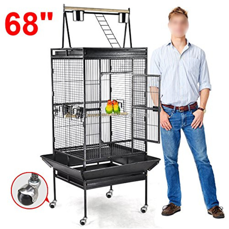 Competitive price non toxic iron bird cage