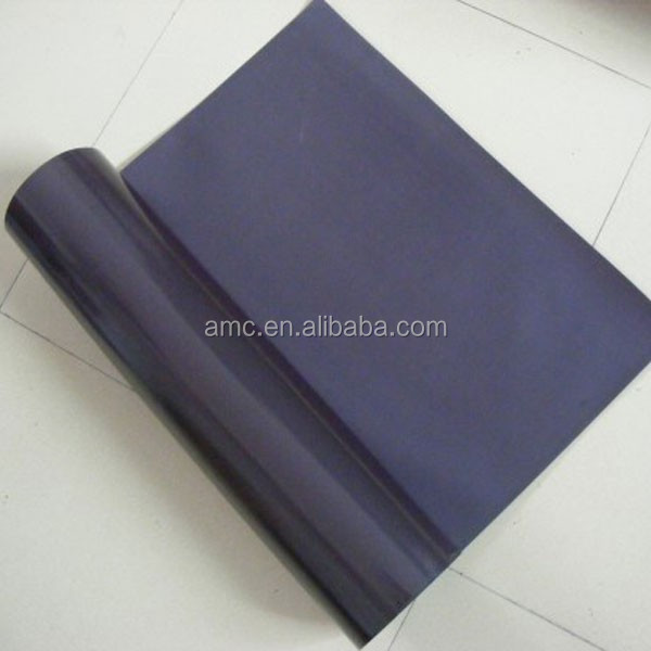 magnetic rubber sheet with high quality double sided adhesive