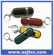Leather USB Stick, Pen drive bulk cheap, Top selling leather USB flash