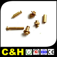 cnc brass lathe turning machine mechanical parts precision machining