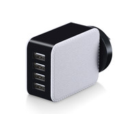 22.5W phone accessories wall charger, 4 usb wall charger tablet charger with CE FCC ROHS
