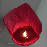flame retardant paper lantern kite made in Chinese factory